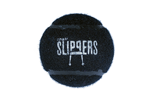 ChairSlippers – Pre-Cut Tennis Ball, Chair Glide